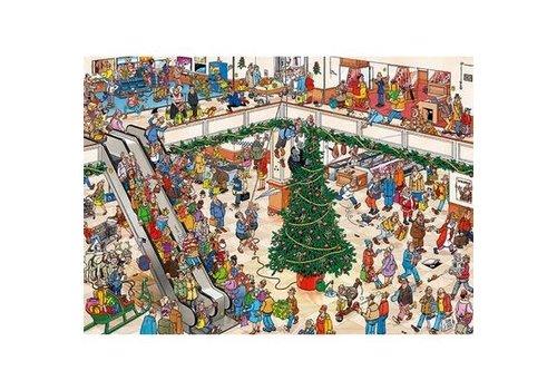 Jumbo Casse-tête 2X 1000 morceaux, Les courses de Noël