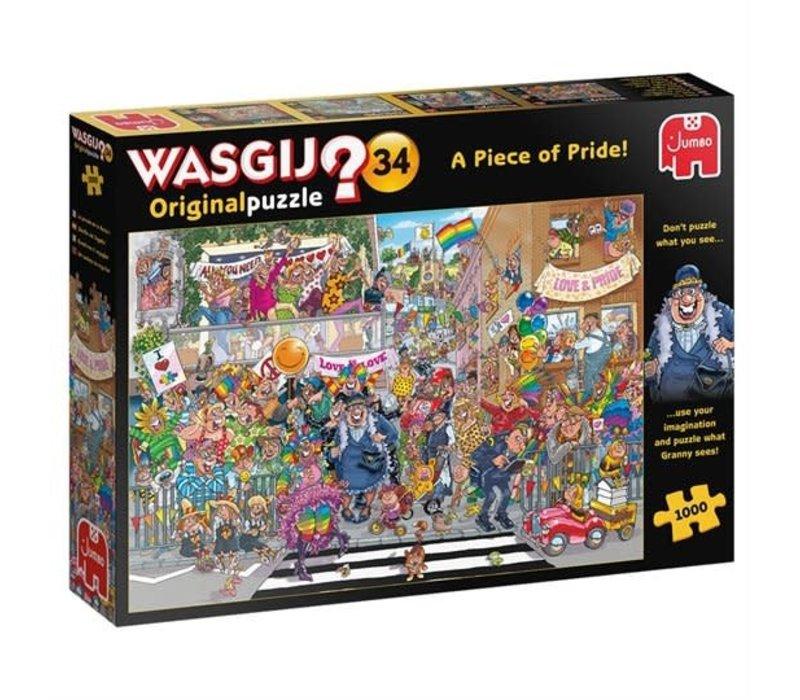Casse-tête 1000 morceaux, Wasgij original #34, parade de la fierté