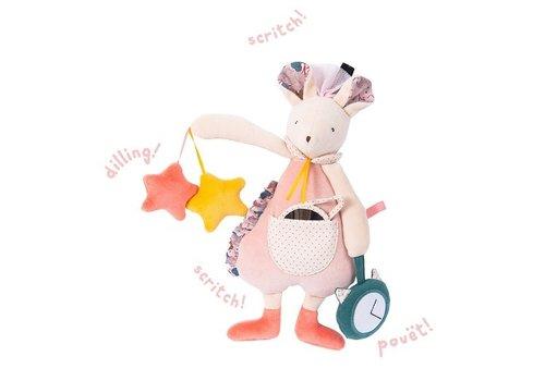 moulin roty Souris d'activité pour bébé / Activity Mouse