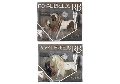 Royal Breeds Ensemble câlin maman et poulain