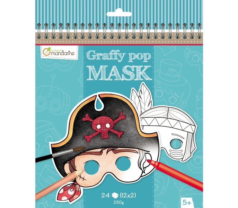 Graffy Pop Masque Garçon