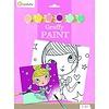 Avenue mandarine Peinture a numéro - Graffy Paint - Princesse
