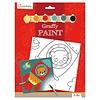Avenue mandarine Peinture a numéro - Graffy Paint - Ours Fusee