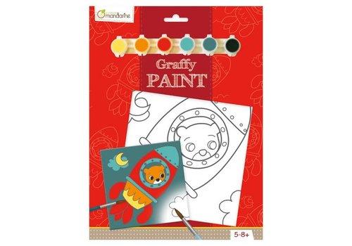 Avenue mandarine Peinture- Graffy Paint - Ours Fusee