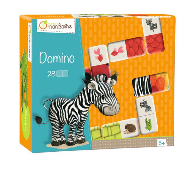 Domino Animaux & textures