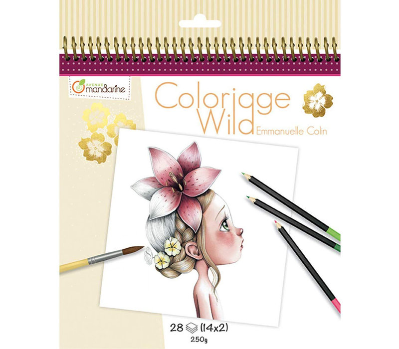 Cahier de coloriage Collector