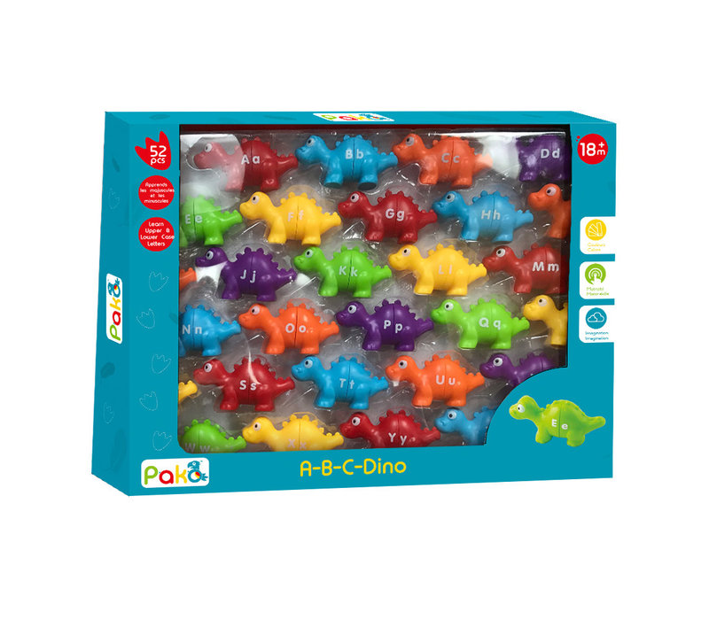 Alpha Dino 52 pièces