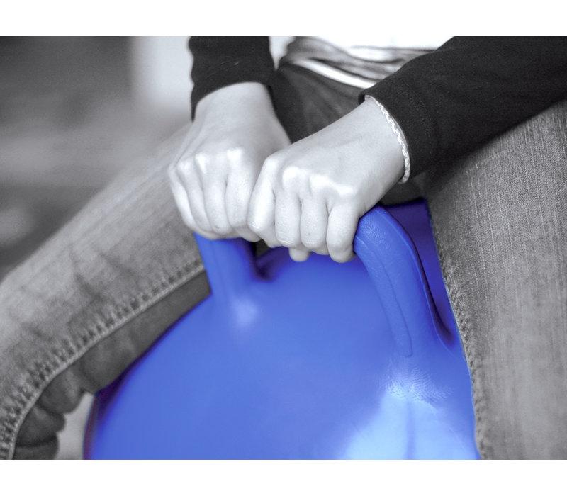 Ballon sauteur bleu 45 cm