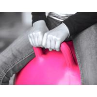 Ballon sauteur rose 45cm