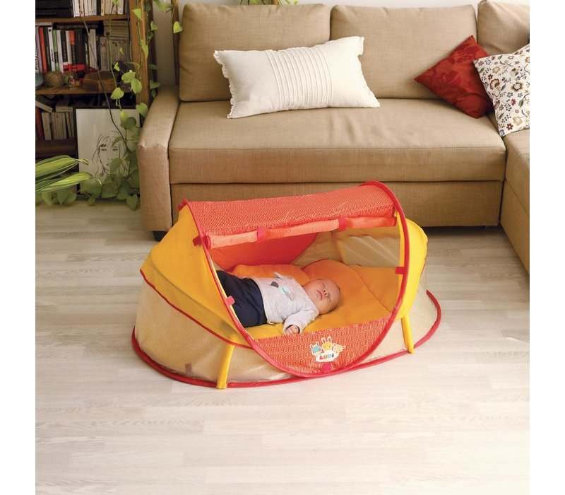 Tente pour bébé nomade rouge