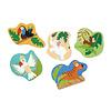 Scratch Casse-tête évolutif jungle 3-4-5-6-8 morceaux