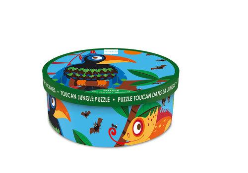 Scratch Casse-tête 100 morceaux - Toucan dans la jungle