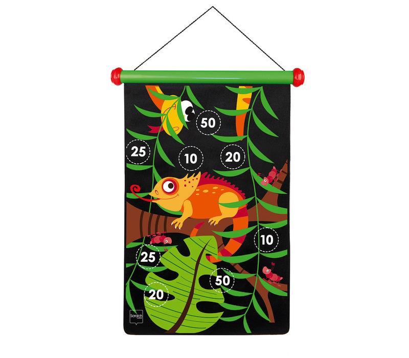 Grand jeu de Dards magnétiques Jungle