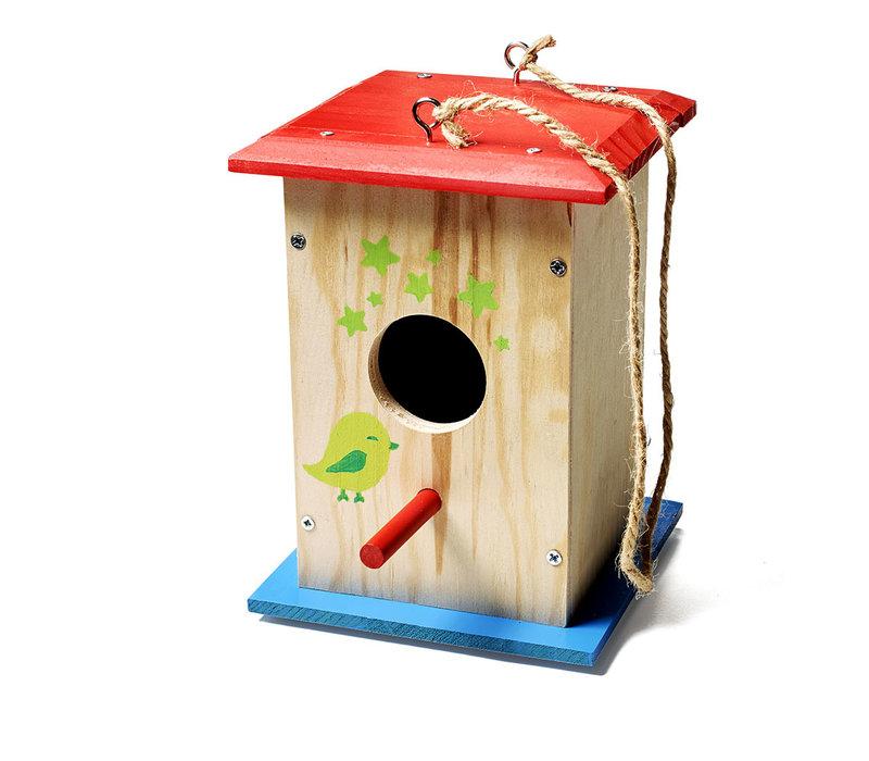 Cabane à oiseaux à construire