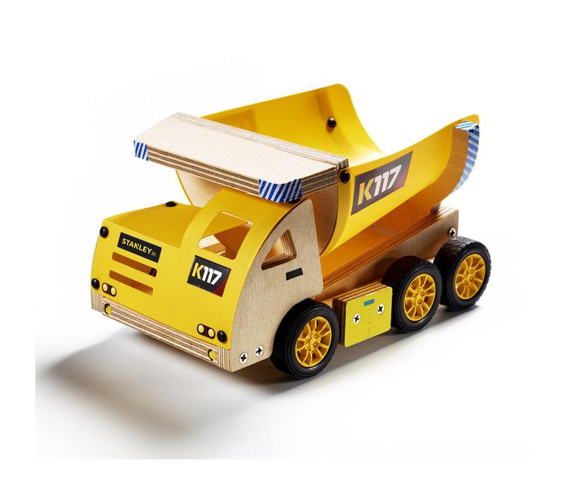 Camion benne à construire