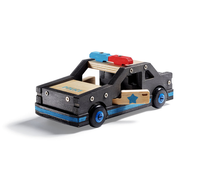 Voiture de police à construire