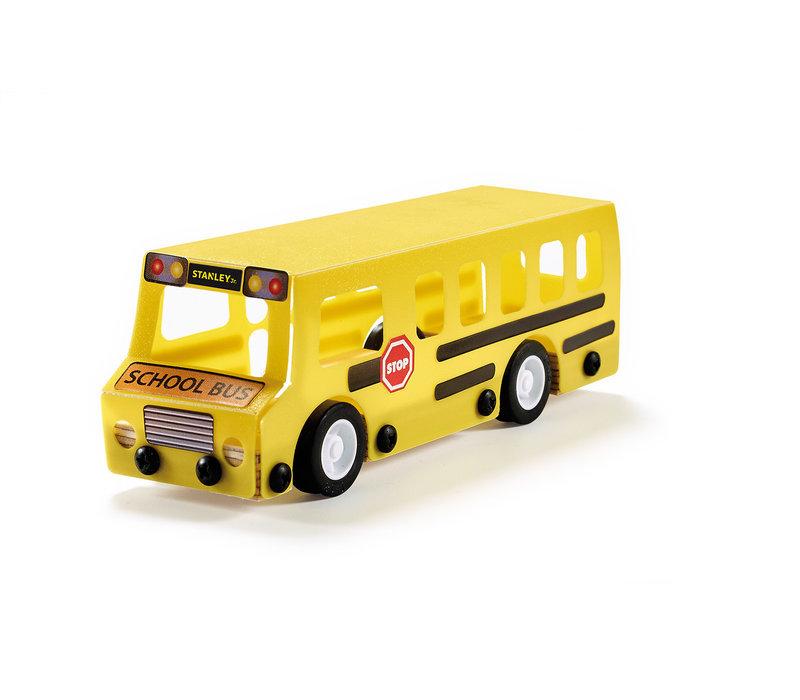 Autobus scolaire à construire