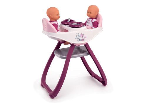 Baby Nurse Chaise haute pour jumeaux