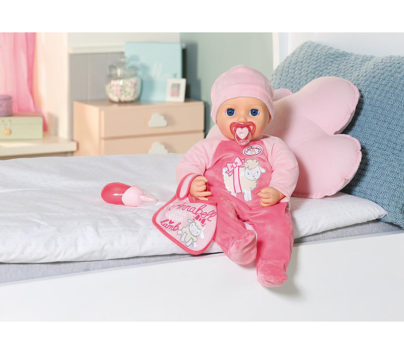 Baby Annabell - Poupée interactive 43 cm