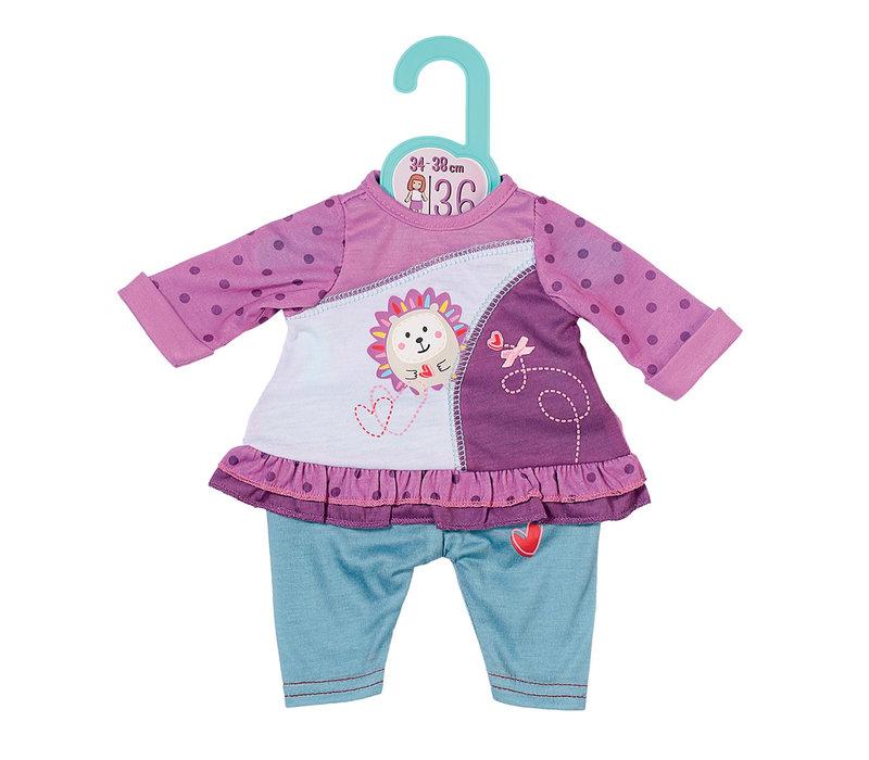 Dolla Moda - Robe d'été pour poupée de 36 cm
