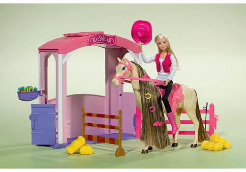 Steffi Love Écurie avec cheval et poupée
