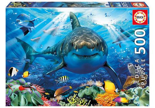Educa Grand requin blanc 500 mcx