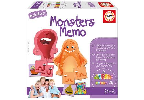 Educa Edufun Monsters Memo