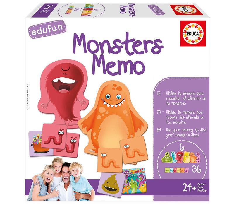 Edufun Monsters Memo