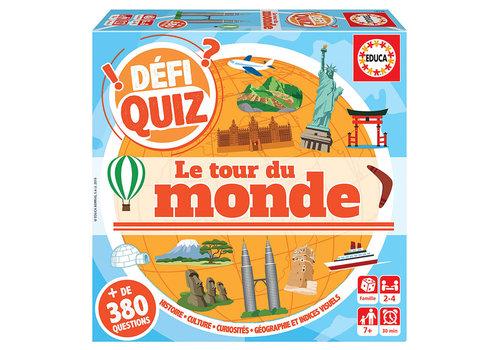 Educa Défi Quiz- Le tour du Monde