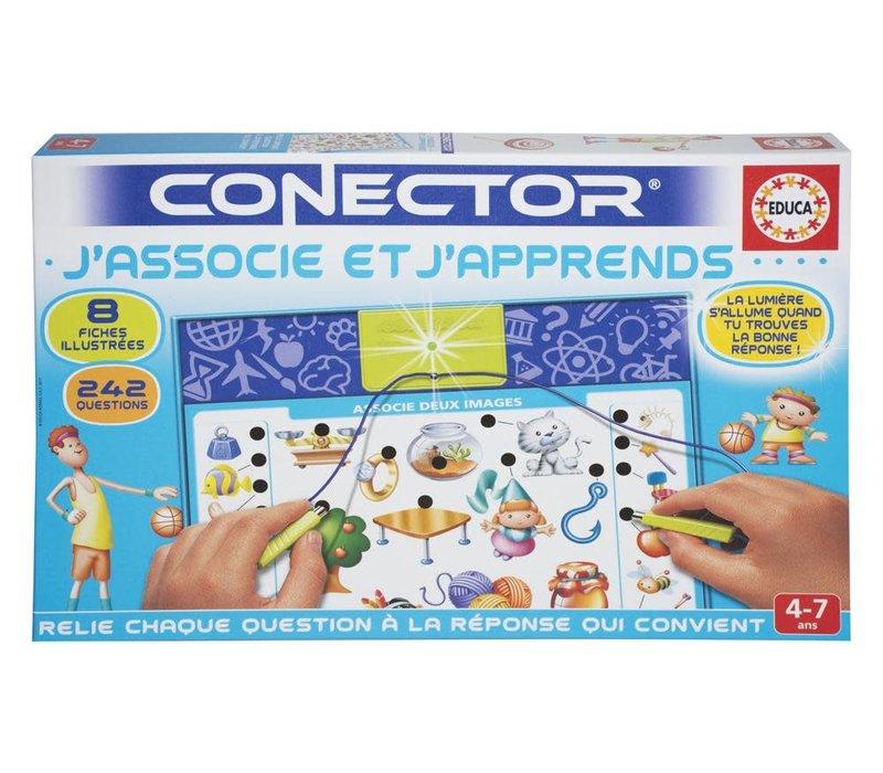 Connector J'associe et j'apprends