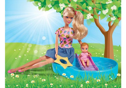 Steffi Love et sa piscine