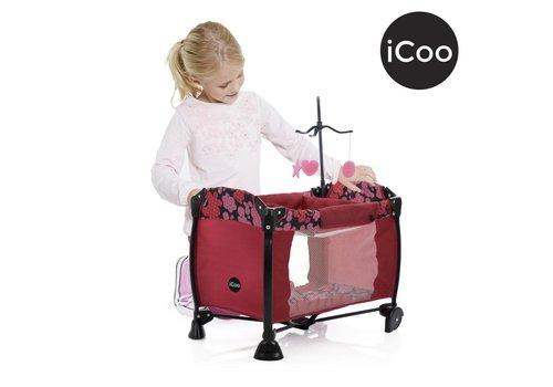 Icoo - Parc de luxe pour poupée