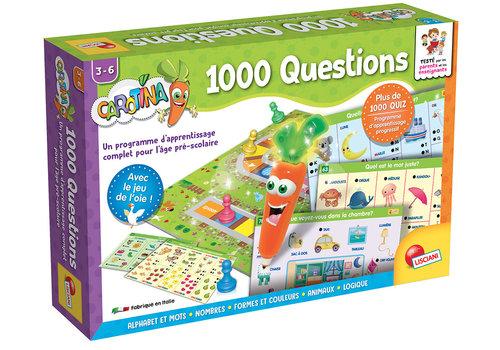 Lisciani (Giochi) Carotina - Stylo parlant 1000 Questions Version française