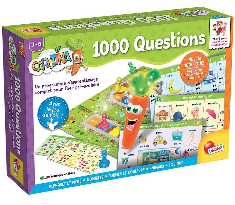 Carotina - Stylo parlant 1000 Questions Version française