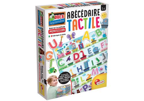 Lisciani (Giochi) Montessori - Alphabet tactile Version française