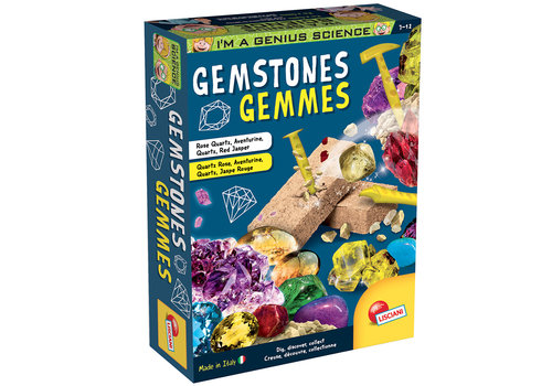 Lisciani (Giochi) I'm a Genius - Gemstones Bilingual version