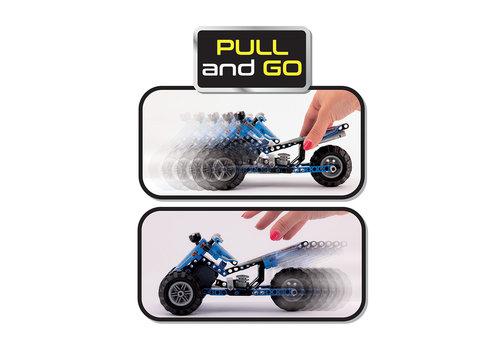 Lisciani (Giochi) Science Hi-Tech -Pull & Go Quad Technics 159 pièces