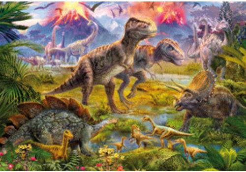 Educa Casse-tête 500 pièces - Rencontre entre dinosaures