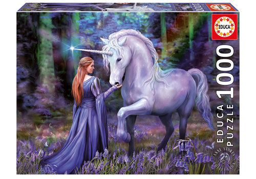 Educa Casse-tête 1000 pièces - Bluebell Woods, Anne Stokes