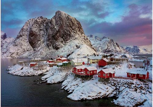 Educa Casse-tête 1500 pièces - Îles Lofoten, Norvège