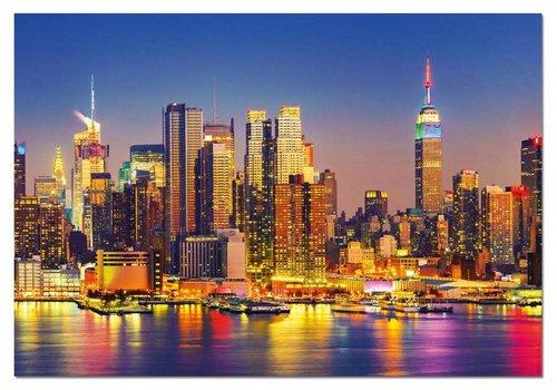 Educa Casse-tête 1500 pièces - Manhattan la nuit