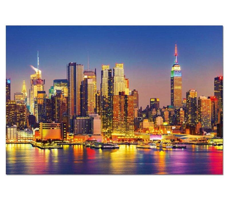 Casse-tête 1500 pièces - Manhattan la nuit