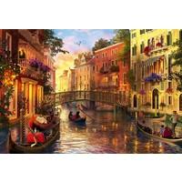 Casse-tête 1500 pièces - Coucher de soleil à Venise