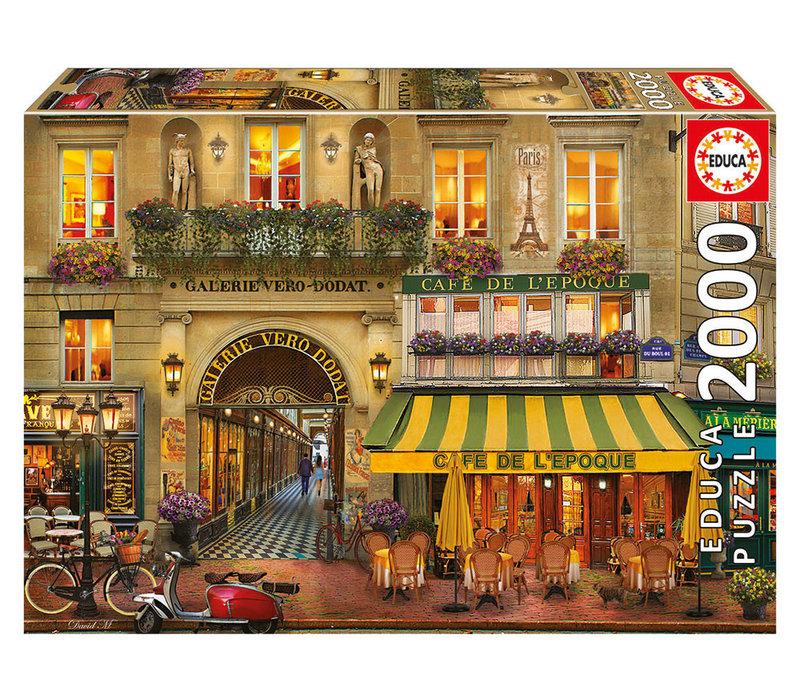 Casse-tête 2000 pièces - Galerie de Paris