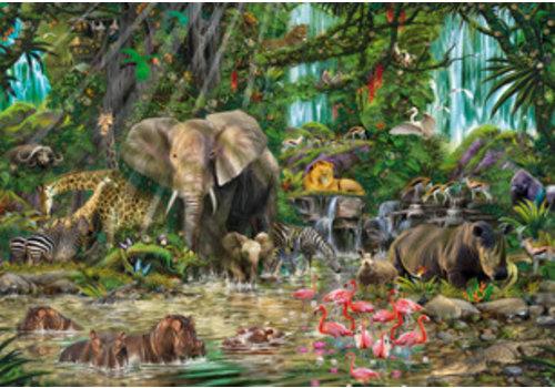 Educa Casse-tête 2000 pièces - Jungle africaine