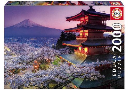 Educa Casse-tête 2000 pièces - Mont Fuji, Japon