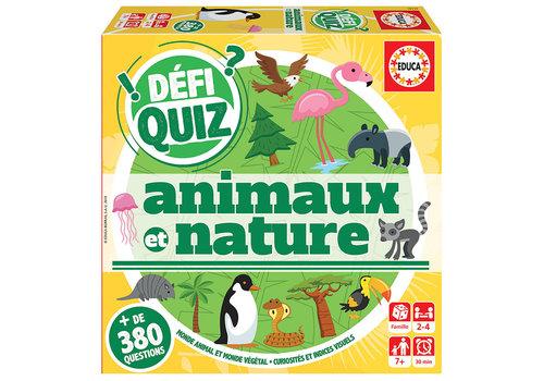 Educa Educa - Défi Quiz - Animaux et Nature