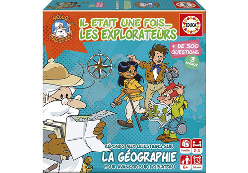 Educa Mini Jeu Il était une fois... Les explorateurs Version française