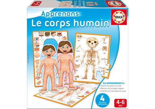 Educa Educa - Apprenons Le Corps Humain Version française