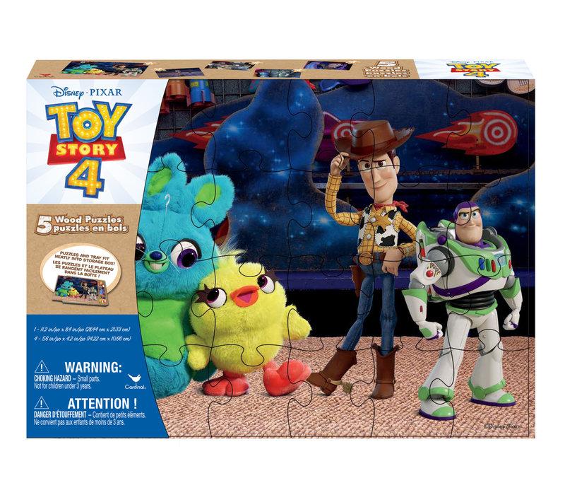 Casse-tête en bois 5-en-1 - Histoire de jouets 4
